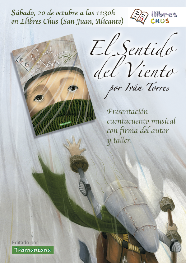 Presentación «El Sentido del Viento» en Llibres Chus
