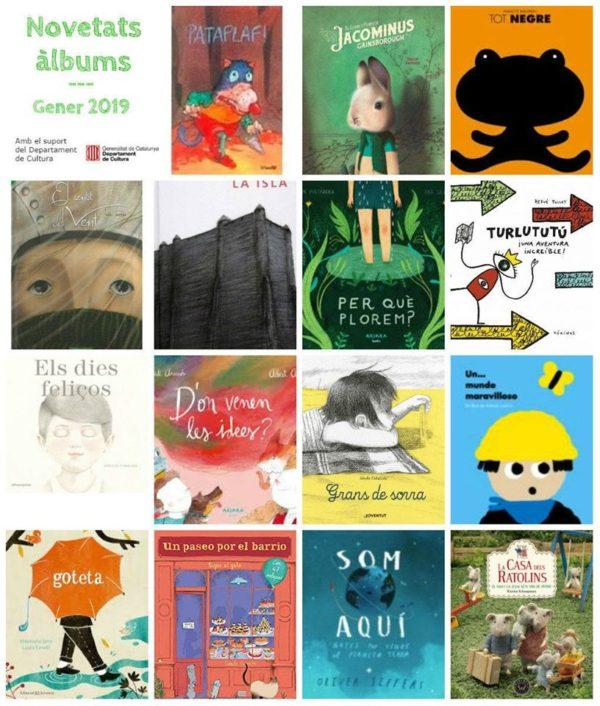 El Sentido del Viento dentro de las novedades de enero 2019 en la Biblioteca Carles Morató de Solsona (Lérida)