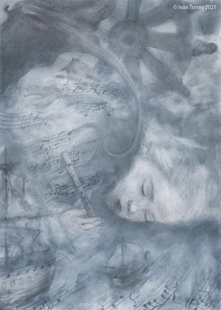 Microrrelato ilustrado: Soñando la vida.