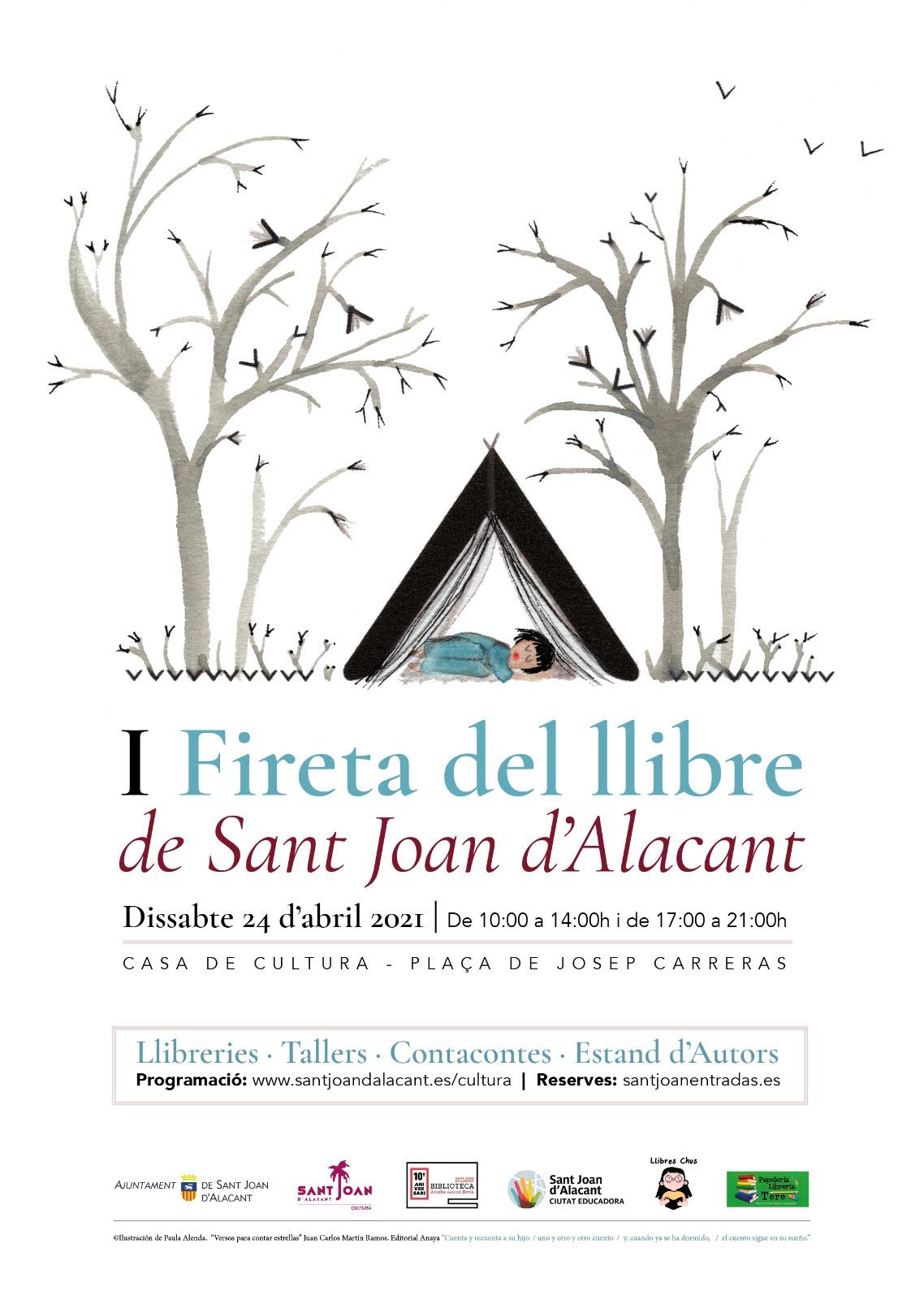 I Fireta del llibre de Sant Joan d'Alacant